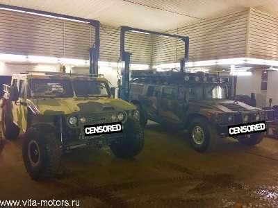 Zibar и Hummer в гостях у Вита-Моторс